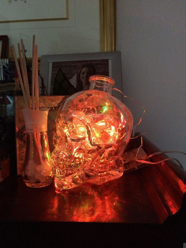 Red Crystal Skull