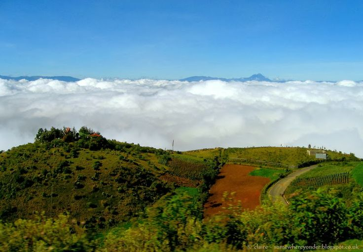 Driving above the clouds - from Semuc Champey to Huehuetenango, Guatemala