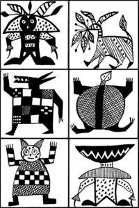animaux graphique