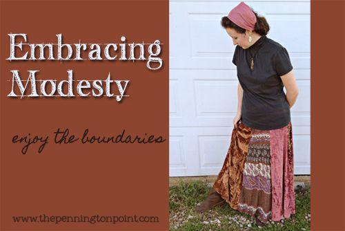 Embracing Modesty - Enjoy the Boundaries