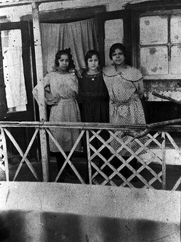C. 1932 Three Greek girls from Ioannina