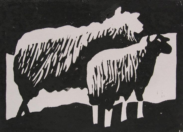 Linoleum snijden vind ik een spannende hobby. Het uiteindelijke resultaat is altijd een verrassing. En je kan dus linoleumafdrukkenmaken.Als