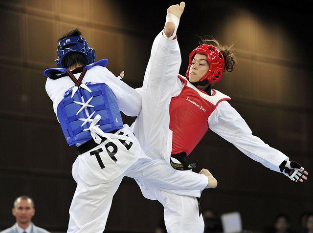 .Taekwon-do sparring | Martial Arts | Pinterest | Posts