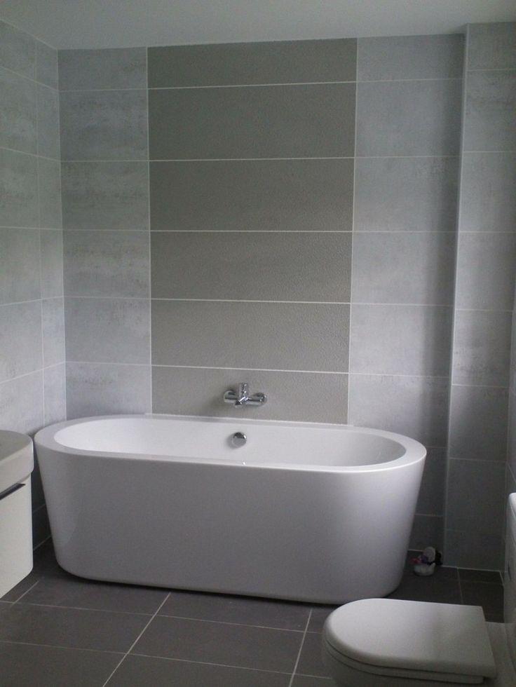 bemerkenswert badezimmer in grau und badezimmer. fliesen ...
