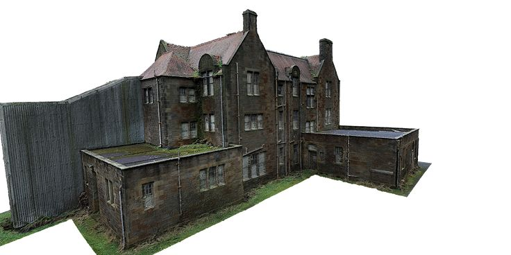 3D model of Heritage Building developed by Drone Scans
