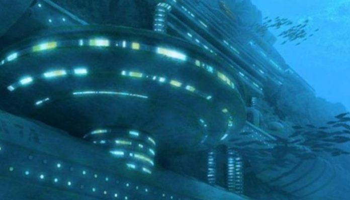 Hay Civilizaciones Extraterrestres Que Están Instaladas En El Fondo Del Mar Lago Erie Extraterrestres Naves Concepto