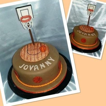 Basketball Cake  Cake by CakesbyGleibis
