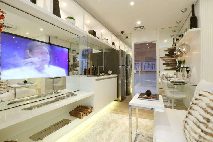 Encontre as melhores ideias e inspirações para casa. MAC_Now Studios Ipiranga 34m² por Chris Silveira & Arquitetos Associados | homify