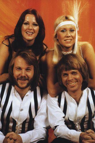 ABBA, Agnetha Fältskog, Anni-Frid Lyngstad, Björn Ulvaeus, Benny Andersson