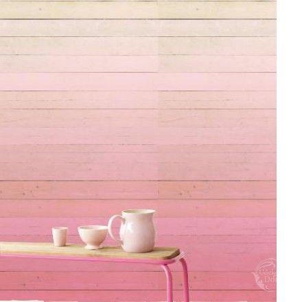 Panel Eijffinger Ibiza Degrado Rosado 330283 - ombre w odcieniach cukierkowego różu