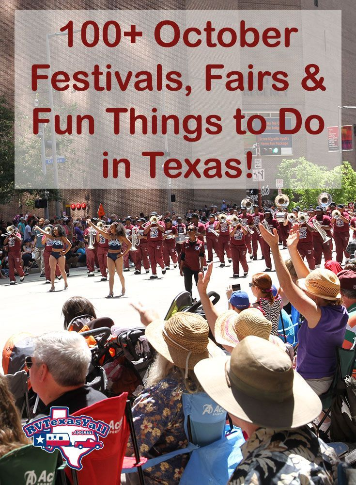 October festivals in Texas. 100+ fun things to do: music festivals, food fairs, art fests and more! Find an October festival near you!