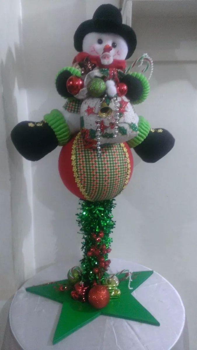 Muñecos De Navidad Adornos - Bs. 30.000,00 en Mercado Libre