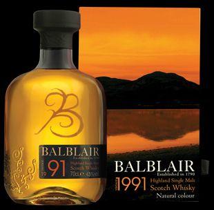 Balblair 1991 Whisky from Whisky Please.