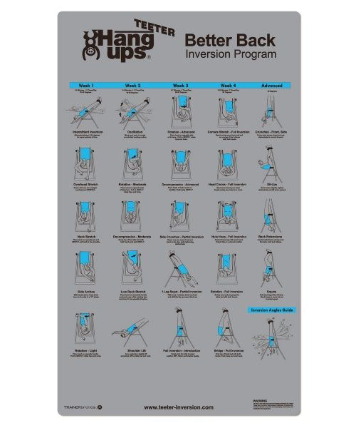 Teeter Hang Ups Better Back Program - Inversion Tables at Hayneedle More