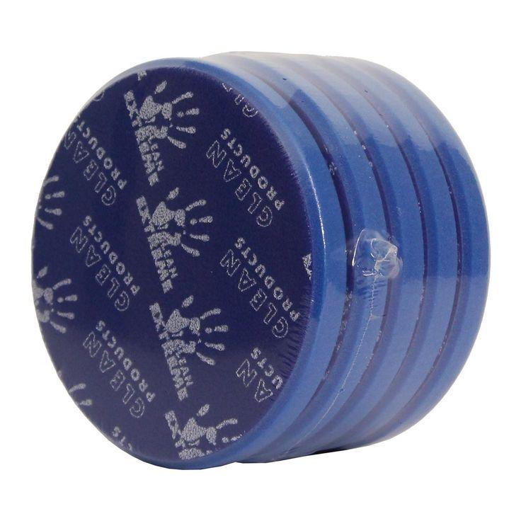 CLEANPRODUCTS Exzenter-Polierschwamm medium-retikuliert Blau 165 mm - 5 Stück  Exzenter-Polierschwamm medium-retikuliert für die Exzentermaschine, Durchmesser 165 mm, Klett-System.
