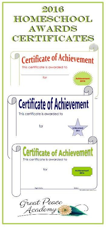 The 25+ best Award certificates ideas on Pinterest Award - printable achievement certificates
