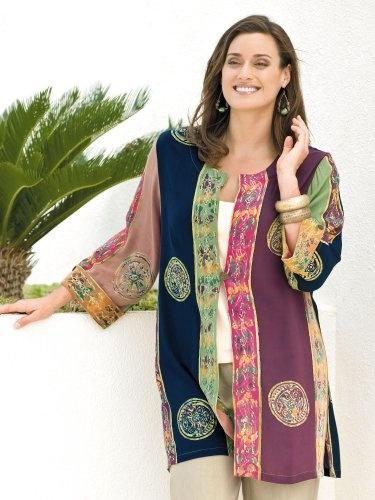 #Ulla #Popken Batik Long #Duster   really love it!   http://amzn.to/HmDBkX