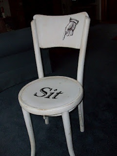 I really love this bossy chair.Great!!  Vicki...you ARE bossy...you WOULD like this lol...
