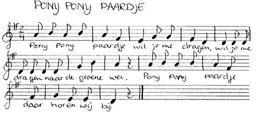 pony-paardje liedje