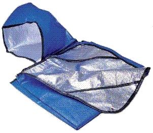SPACE® Brand All-Weather Hooded Thermal Survival Blanket