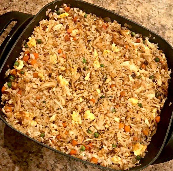 Hibachi Chicken Fried Rice Recipe