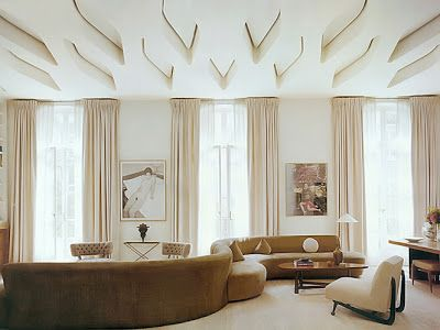 Pierre Yovanovitch design.  really, the ceiling