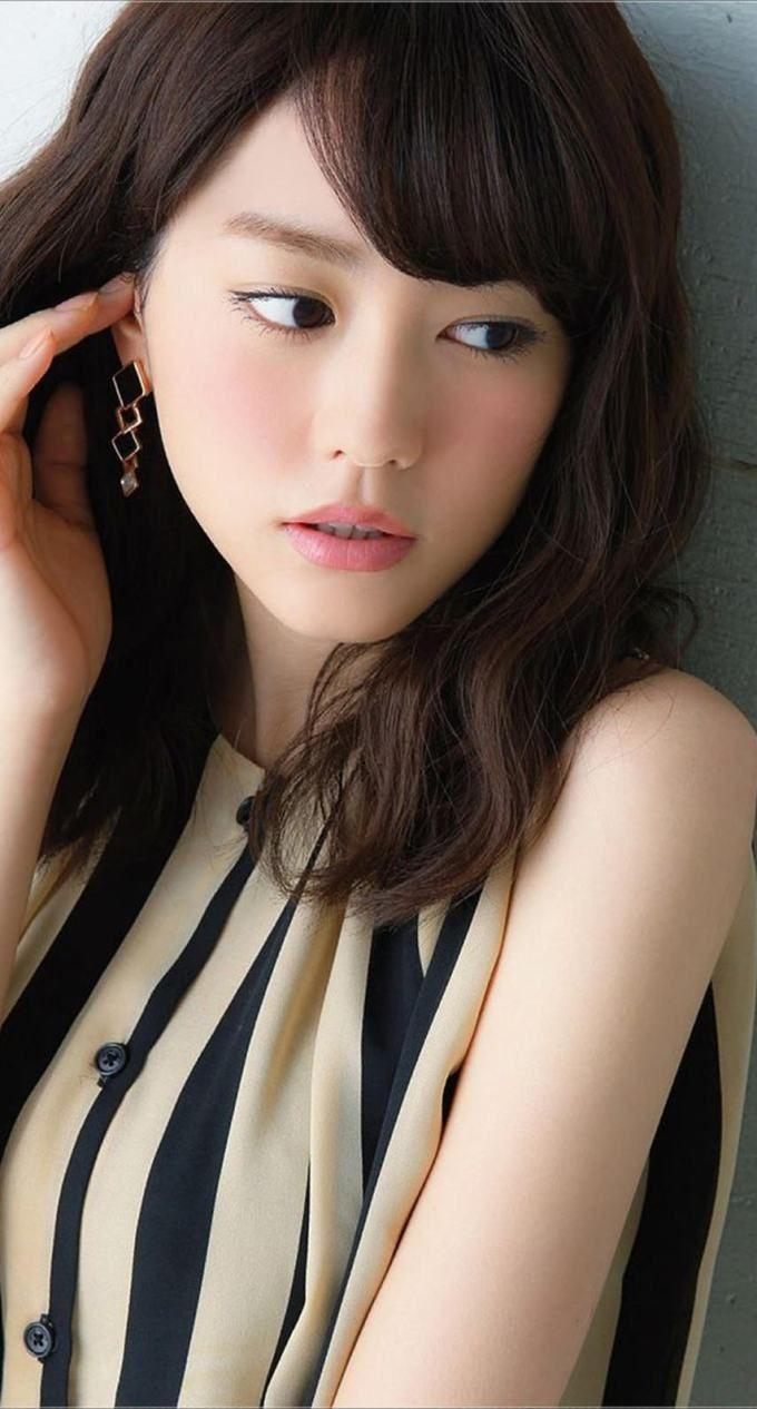 桐谷美玲6 iPhone壁紙 Wallpaper Backgrounds iPhone6/6S and Plus  Mirei Kiritani Japanese Actress iPhone Wallpaper