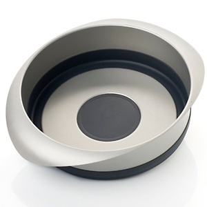 Curtis Stone Pop-Out Steel and Silicone Round Baking Pan at HSN.com.