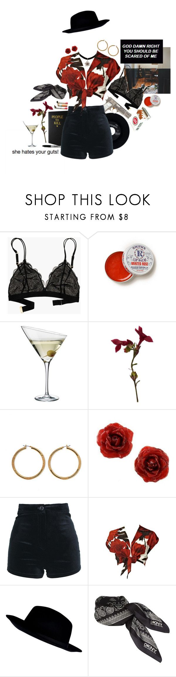 """""""Guts"""" by weedscruff ❤ liked on Polyvore featuring Madewell, CHESTERFIELD, Anthropologie, Eva Solo, Vince Camuto, NOVICA, Alice + Olivia, River Island and DKNY"""