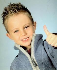 Hair & Bodystyling | Kinderen: kapsel voor jongens. Boys hairdo