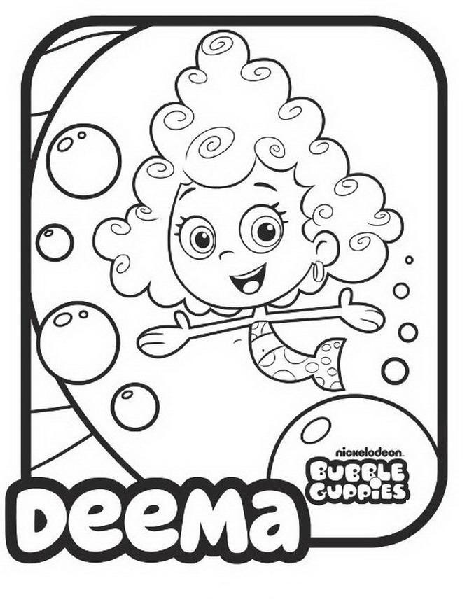 36 best bubble guppies images on pinterest | coloring pages ... - Bubble Guppies Coloring Pages Goby