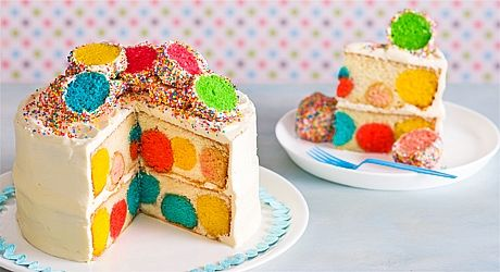 This impressive cake is a feast for the eyes as well as the mouth!