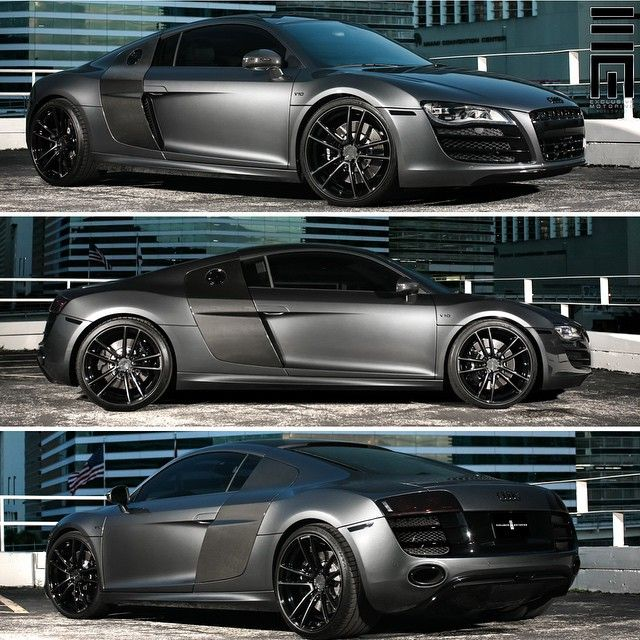 """""""Audi R8 V10 customized by @ExclusiveMotoring #ExclusiveMotoring #Miami"""""""