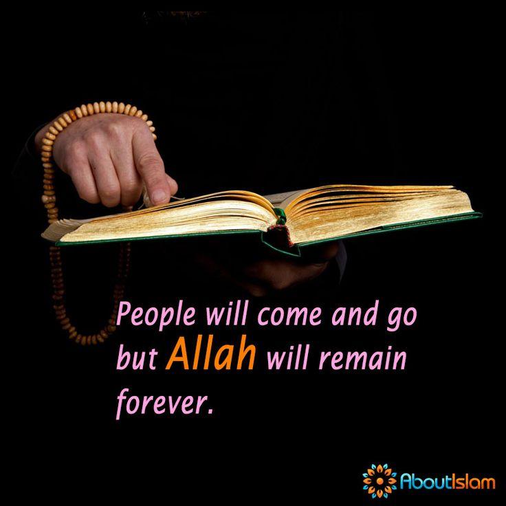 Allah will remain forever. ☝️  #Islam #Allah