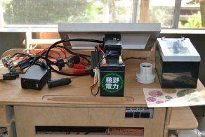 藤野電力の発電キット! 〜〜〜 出張組立てワークショップなど、オフグリッド・ライフの普及活動をしている藤野電力。 http://fujinodenryoku.jimdo.com/