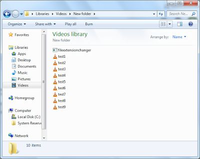 Changing File Extensions: Change your file extension with a simple console a...