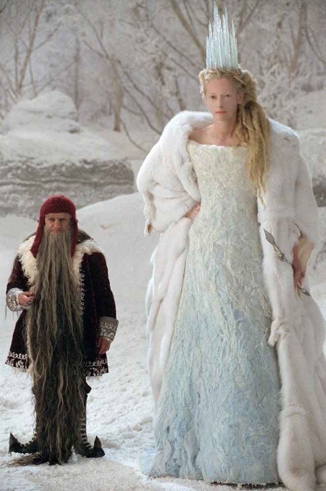 Kiran Shah and Tilda Swinton in The Chronicles of Narnia: The Lion, the Witch and the Wardrobe (2005)