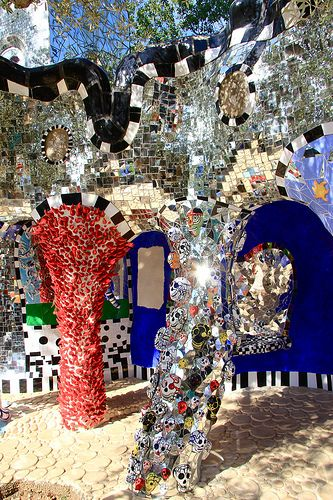 Visit tarot Garden in France Art by Nikki de Saint Phalle www.nikidesaintphalle.com
