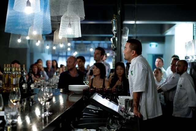Roi Choi at Melbourne Food and Wine Festival's Chef MasterClass held at Coda