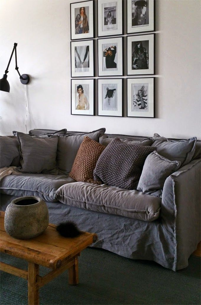118 best Sofa with Cover images on Pinterest   Living room, Living ...