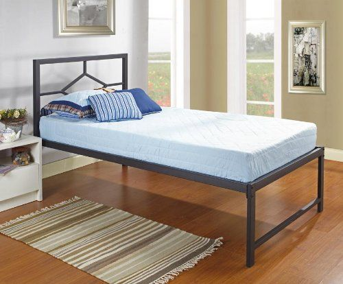 Kings Brand Furniture Black Metal Twin Size Day Bed Frame ...