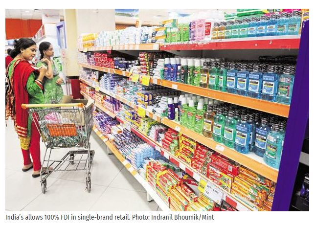 New Delhi: The department of industrial policy and promotion (DIPP) on Tuesday approved two FDI proposals in the retail sector, including that of Damro Furniture worth over Rs400 crore.  Get #NarendraModi & #BJP #latestnews and #updates with - http://nm4.in/dnldapp http://www.narendramodi.in/downloadapp. Download Now.