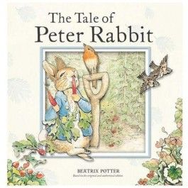 The Tale of Peter Rabbit by beloved English children's book author, Beatrix Potter. Sturdy board book edition is perfect for babies and toddlers. $9.95