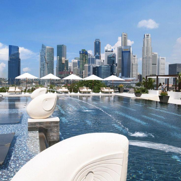 Mandarin Oriental, Singapore—Singapore, Singapore. #Jetsetter