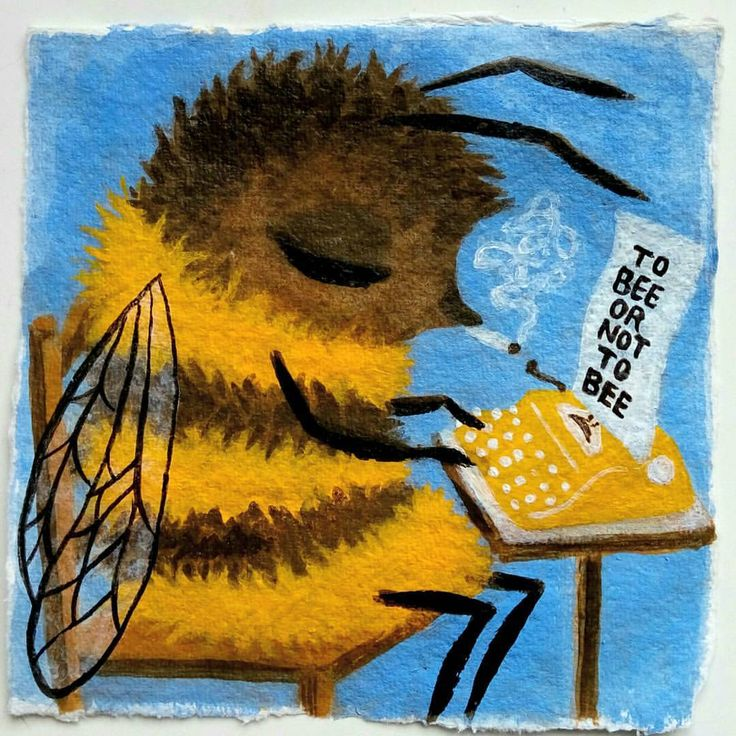 Hui Skipp — #bee  #illustration