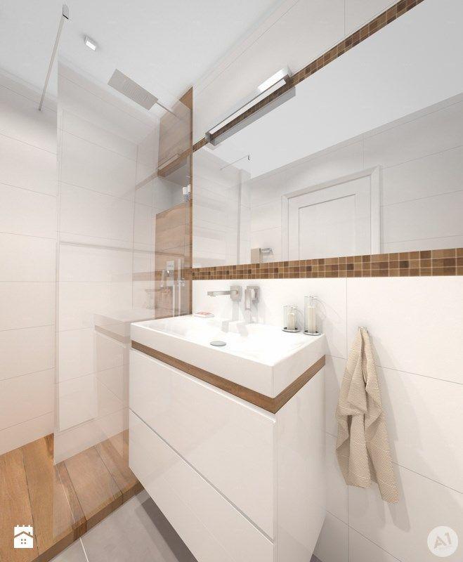 Łazienka styl Minimalistyczny Łazienka - zdjęcie od A1Studio