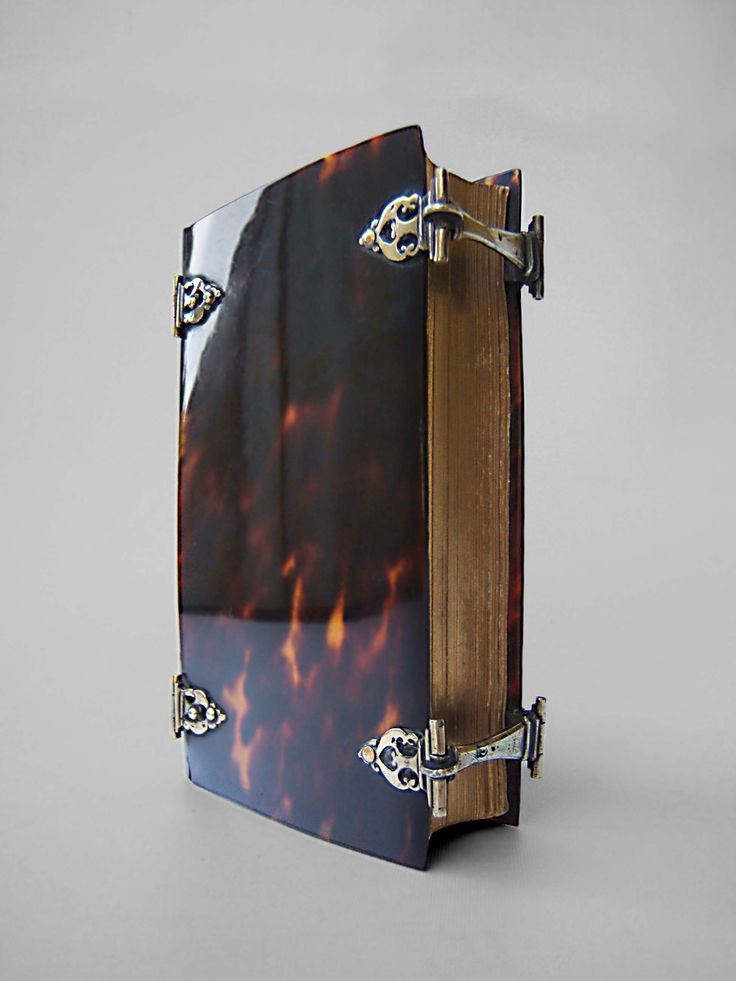 Turtleshell book-cover from the 17th century