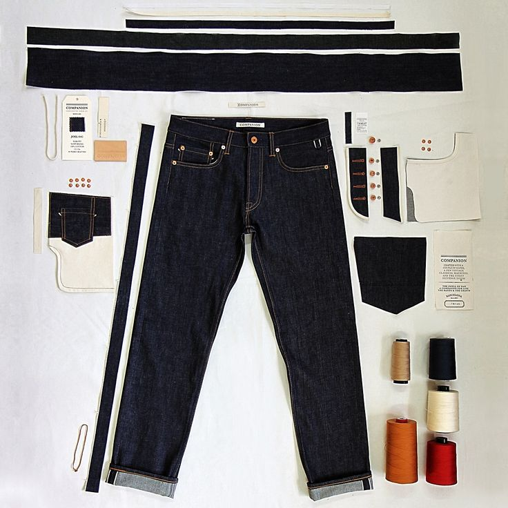 Companion Denim, Joel 01C editor's note: Everyone check out this new denim company out of Barcelona, Companion. Handcrafted denim—real...