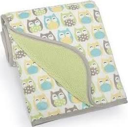 Carters Owl Blanket Owl Baby Blankets Turquoise Nursery