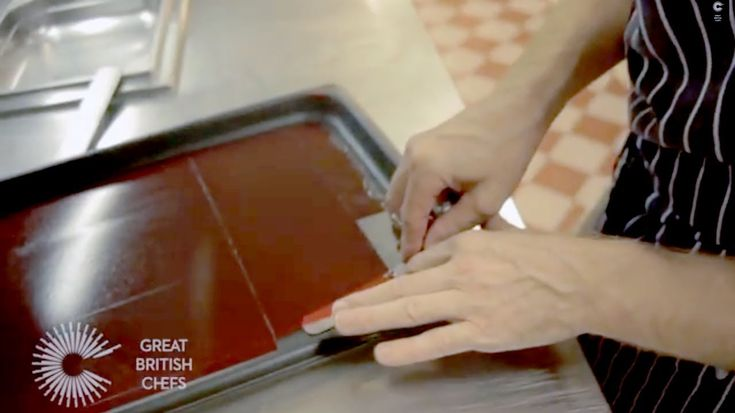 How to make a raspberry gel with chef Michael Wignall